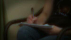 Still of Automatic Writing closeup